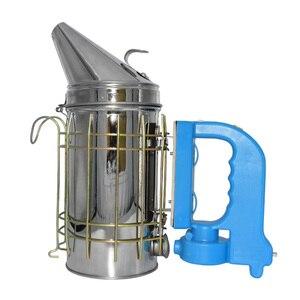Image 3 - Kit eléctrico de transmisión de humo de abeja de acero inoxidable, gran oferta, herramienta de apicultura, ahumador de abejas