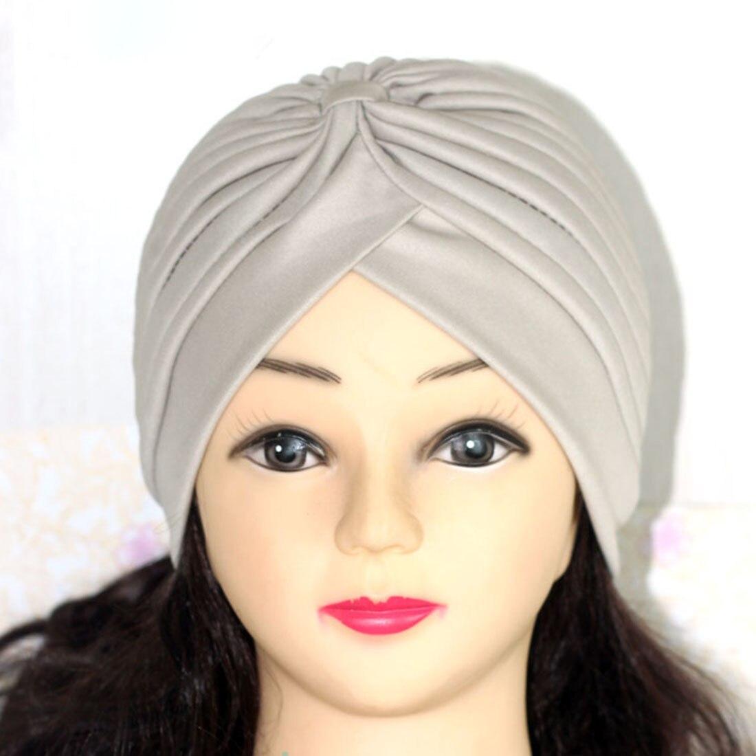Хиджаб шарф тюрбан шапка s мусульманский головной платок Защита от солнца Кепка Женская хлопковая мусульманская многофункциональная тюрбан платок femme musulman - Цвет: 16