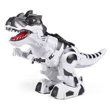 Motor-driven Mechanics Battle Of The Dragon Crawl Dinosaur Model Toys Children Jurassic Park Interaction Education Game