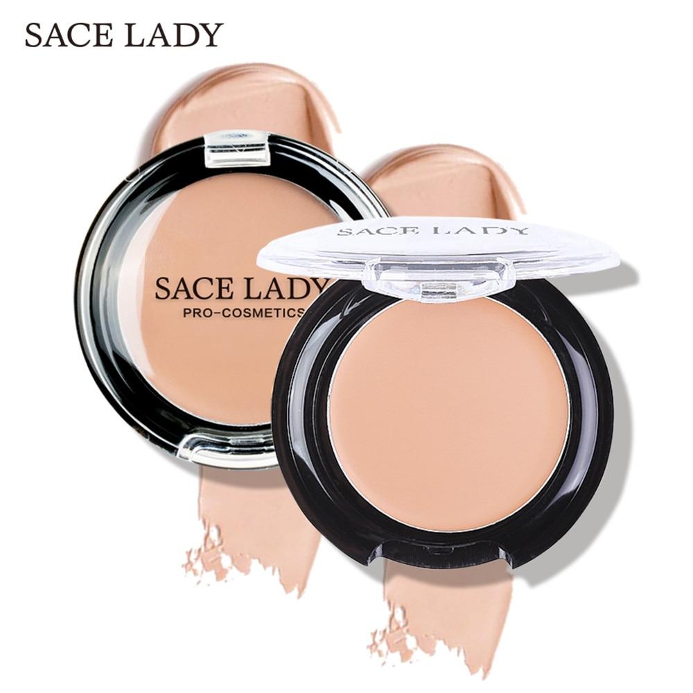 SACE LADY Concealer Full Cover Cream Facial Make Up Waterproof Foundation Face Contour Makeup Pores Corrector Matte Hide Blemish