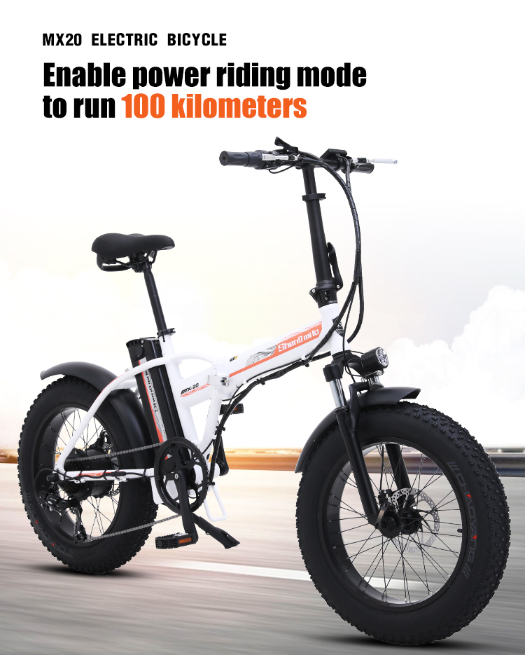 Электрический велосипед, 20 дюймов, складной электрический велосипед, 500 Вт, 48 В, батарея для горного велосипеда, электровелосипед, Электриче...