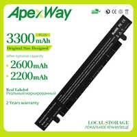 Apexway Battery for Asus A41-X550A  A450 A450L A550 A550C A550V F450 F450C F450V F550C F550V K450C  K550C P450 X450 X550 X550V