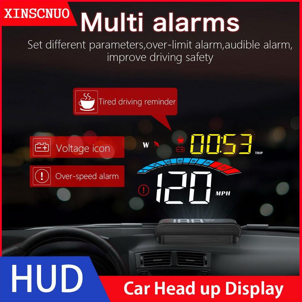 Купить автомобильный универсальный obd2 hud head up display скоростной