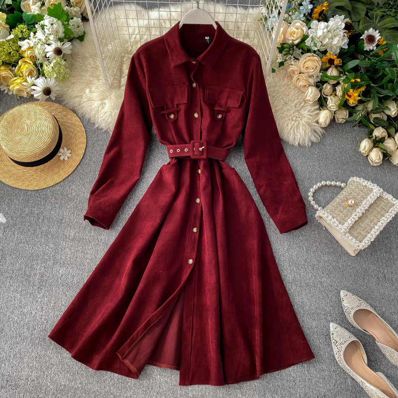 2019 new fashion women's clothing Dress autumn and winter dresses women dress 19