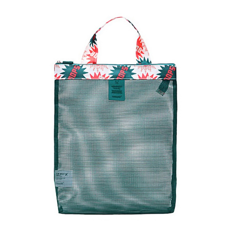 Large Capacity Men Women Picnic Mesh Transparent Bag Shoe Storage Bag Beach Bags Swimming Gym Outdoot Sports Handbag Totes