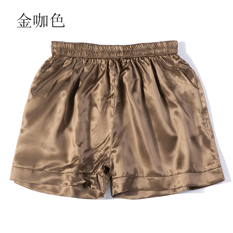 100% Pure Silk Women's Shorts Solid Colors With Pockets In 15 Colors One Size JN105