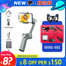 Moza Mini MX 3 Axis Handheld Gimbal Smartphone Stabilizer for iphone 8 x vs dji osmo mobile 3 Snoppa Atom zhiyun Smooth 4