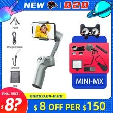 Moza Mini MX 3 осевой Ручной Стабилизатор для смартфона iphone 8 x vs dji osmo mobile 3 Snoppa Atom zhiyun Smooth 4