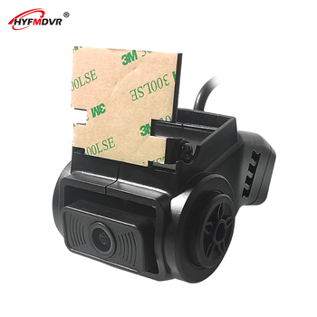 HYFMDVR HD reversing double lens camera reversing image rear view Wide voltage 12V Transport vehicle / excavator / school bus