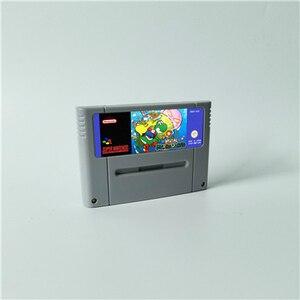 Image 3 - Super Marioed World wszystkie gwiazdy 2D Land Omega powrót do ziemi dinozaurów 3x karta do gry RPG wersja EUR oszczędzanie baterii