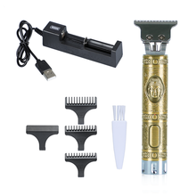 Men Professional Cordless Electric Hair Clippers Hair Cutter