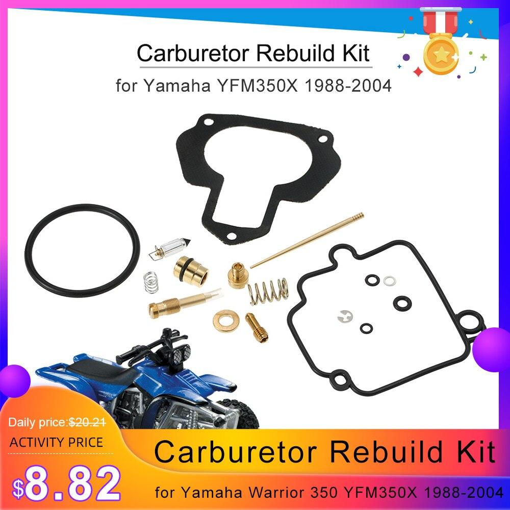 Carburetor Repair Kit Carb Kit fits Yamaha 350 Warrior YFM350X 1988-2004 Race-Driven