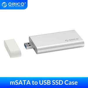 ORICO Mini USB3.0 mSATA SSD Enclosure Aluminum 5Gbps High-speed HDD Case for Laptop Desktop Windows/Linux/Mac with Screw Fixing(China)