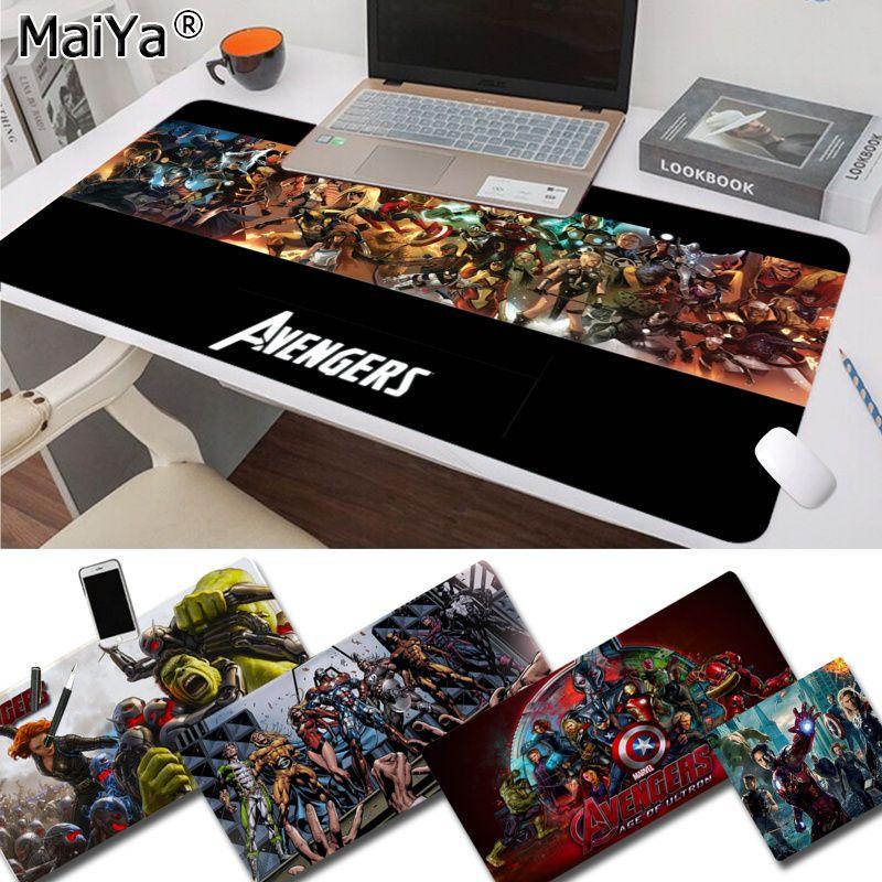 Maiya Boy Gift Pad Marvel Avengers Endgame Laptop Gaming Mice Mousepad Free Shipping Large Mouse Pad Keyboards Mat