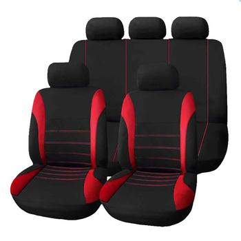 Aimaao 2 4 9 sztuk uniwersalny zestaw pokrowców na siedzenia samochodowe Auto stylizacji wnętrza samochodu akcesoria dla VW Bmw E46 E90 F10 Volkswagen Golf 4 5 tanie i dobre opinie Cztery pory roku Poliester CN (pochodzenie) 11cm 31cm Pokrowce i podpory 0 61kg Podstawowa funkcja 21cm car seat cover