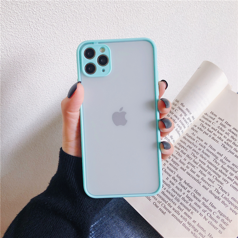 LECAYEE 2020 New iPhone Case Precise Super Anti Knock Phone Protective Cases for iPhone 11 Pro X XR XS Max 7 8 Pus 6s 6 SE (19)