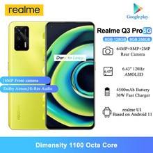 Nowe telefony komórkowe Realme Q3 Pro 5G 8GB RAM 6.43
