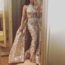 Woman Dress 2020 New Bandage High Collar Lace Elegant Female