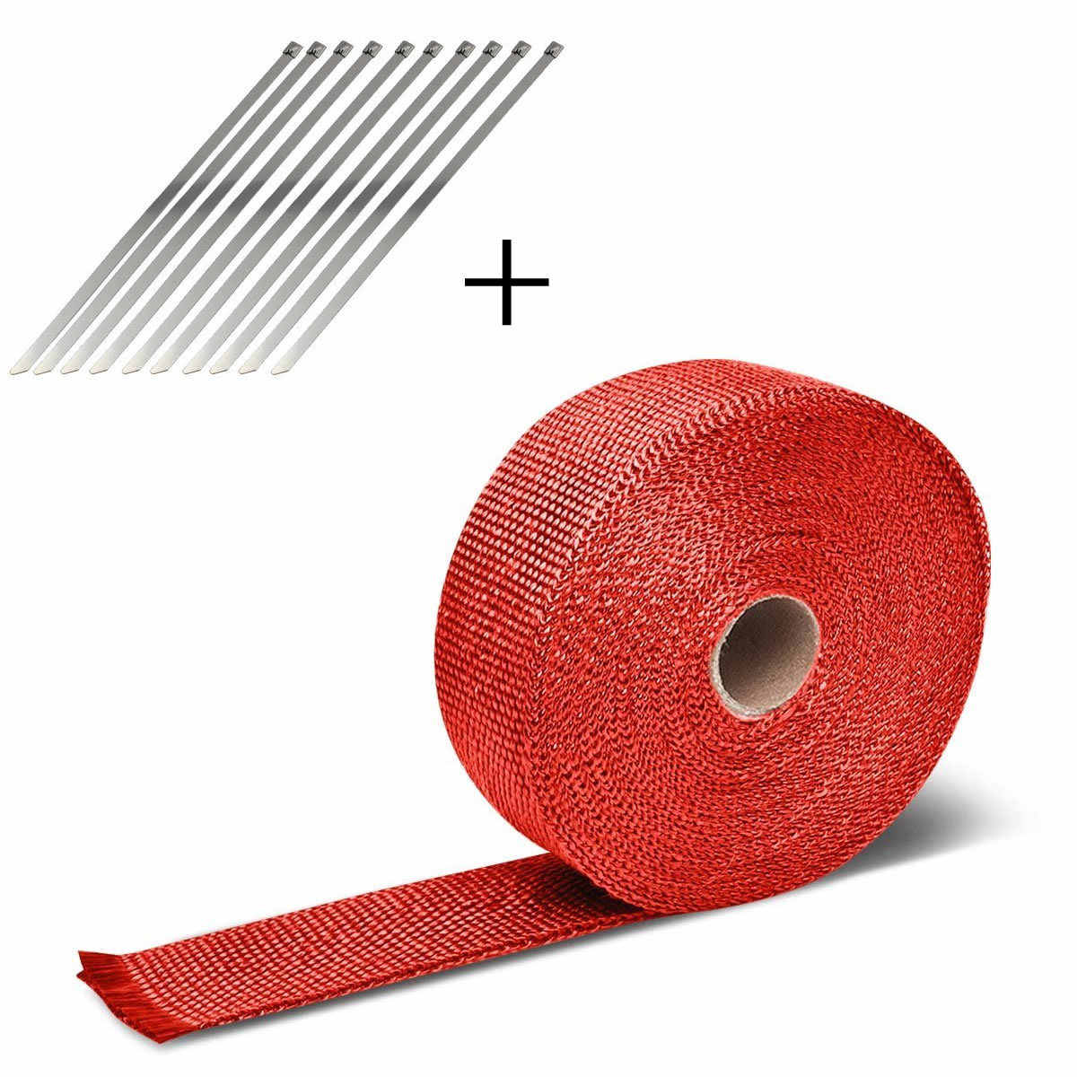 10 4m モーター断熱テープ排気管コレクタターボ高断熱ラップ黒 10 ネックレス