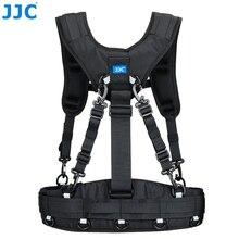 Système de ceinture et de harnais de photographie JJC de style gilet pour la série JJC DLP, pochettes pour objectifs de la série Lowepro S & F pour Canon Nikon Sony Pentax