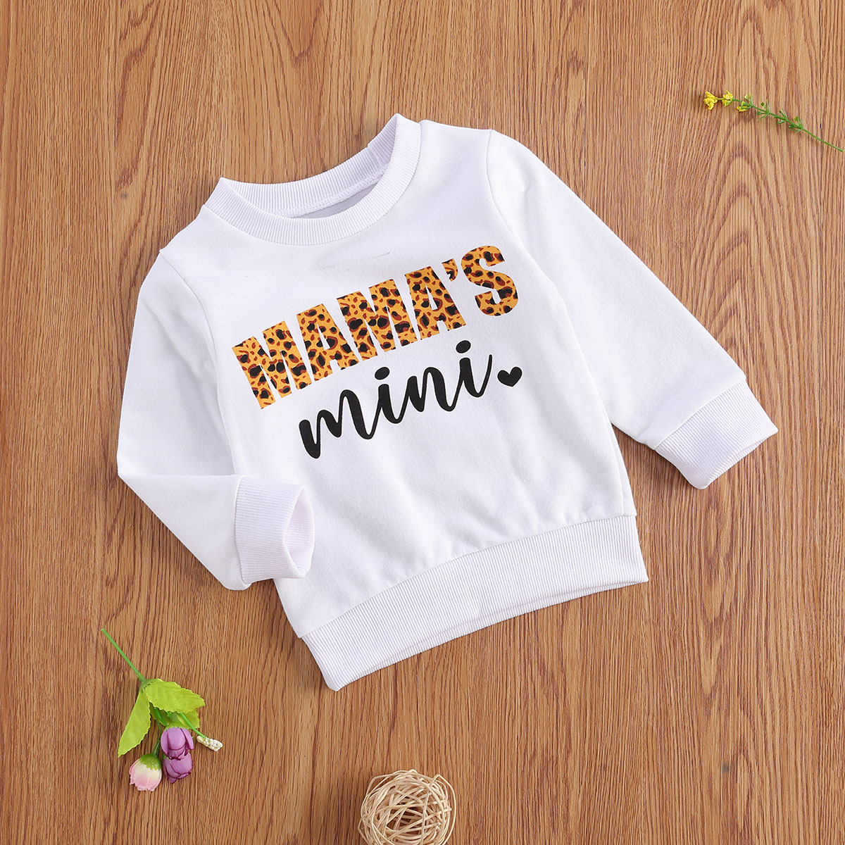 2020 Toddler Baby Girls Boys Autumn Clothes Letter Print Round Collar Long Sleeve Pullover Top Sweatshirt Outfits 0-3T Clothing 2