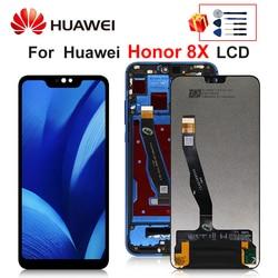Pour Huawei Honor 8X LCD Affichage Écran Tactile Numériseur Pour L'honneur JSN-L21 JSN-L42 JSN-AL00 L22 Pièces De Rechange
