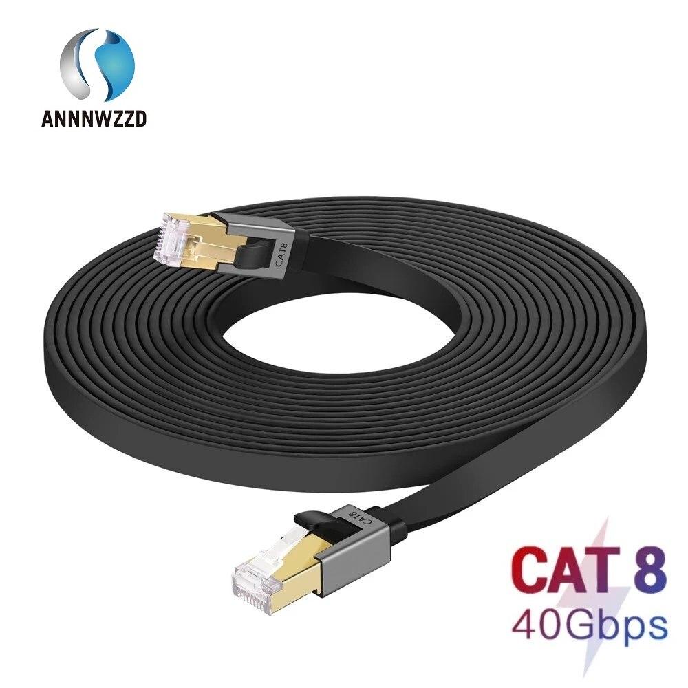 Cat8 Ethernet кабель 40 Гбит/с 2000 МГц сетевой кабель Lan RJ45 патч корд для ноутбуков PS 4 маршрутизатор RJ45 Ethernet кабель| |   | АлиЭкспресс