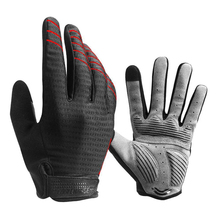 Men Women Guard Windproof Shockproof OffRoad Warm Breathable Cycling Gloves Anti Slip Autumn Motorcycle Full Finger Fashion