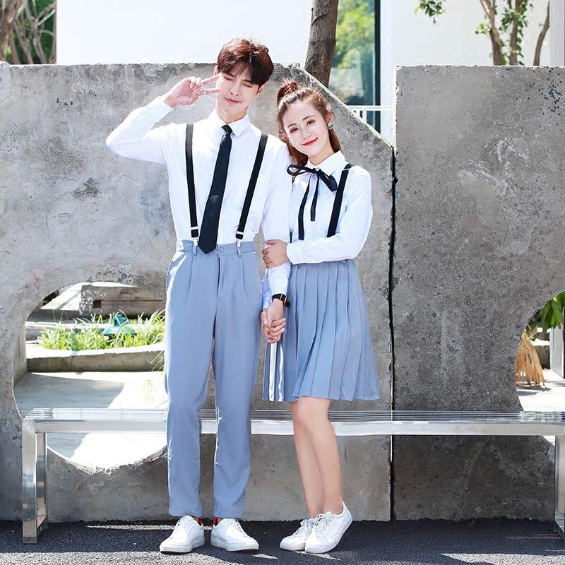 School Uniform Set Student Uniform Tie Suit Set Table Costume Japanese School Uniform Girl Summer JK