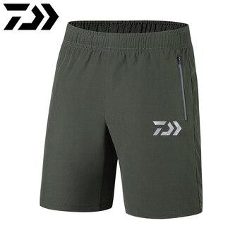 Daiwa ใหม่ชายฤดูร้อนด่วนแห้งกางเกงขาสั้นเดินป่ายุทธวิธีกันน้ำกลางแจ้งเดินป่าตกปลาผู้ชายกี...