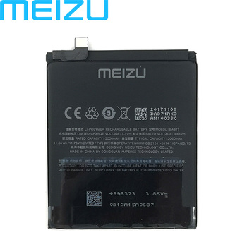 Meizu 100% Original 3060mAh BA871 Battery For Meizu Meilan M15 Smartphone Latest Production High Quality Battery+Tracking Number 2pcs new original 2000mah li ion battery for gnd nbl 45a2000 high quality battery tracking number