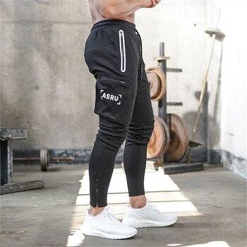 2020 New Autumn Winter Men Camouflage Casual Pants Patchwork Sweatpants Male Cargo Pants Multi-pocket Sportwear Mens Joggers 1