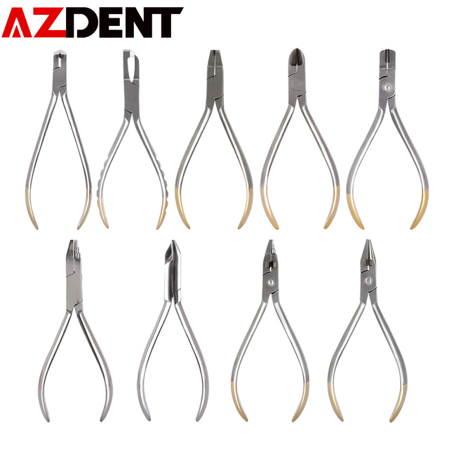 Dentist Pliers Distal End Cutter Stainless Steel Orthodontic Plier  Dental Instrument Tools Jaws Arch Cutting Orthodontic Cutter