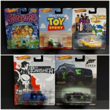 HOT WHEELS 1/64 FORD F-150 RAPTOR &PUNISHER VAN&TOY STORY RC CAR&MYSTERY MACHINE&THE BEATLES YELLOW SUBMARINE Collection car