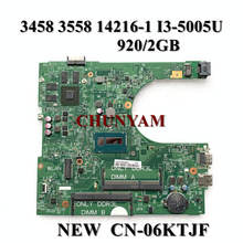 Mainboard Inspiron Dell NEW for 3458 3558 14216-1 1xvkn/i3-5005u 920M 2GB 100%Tested