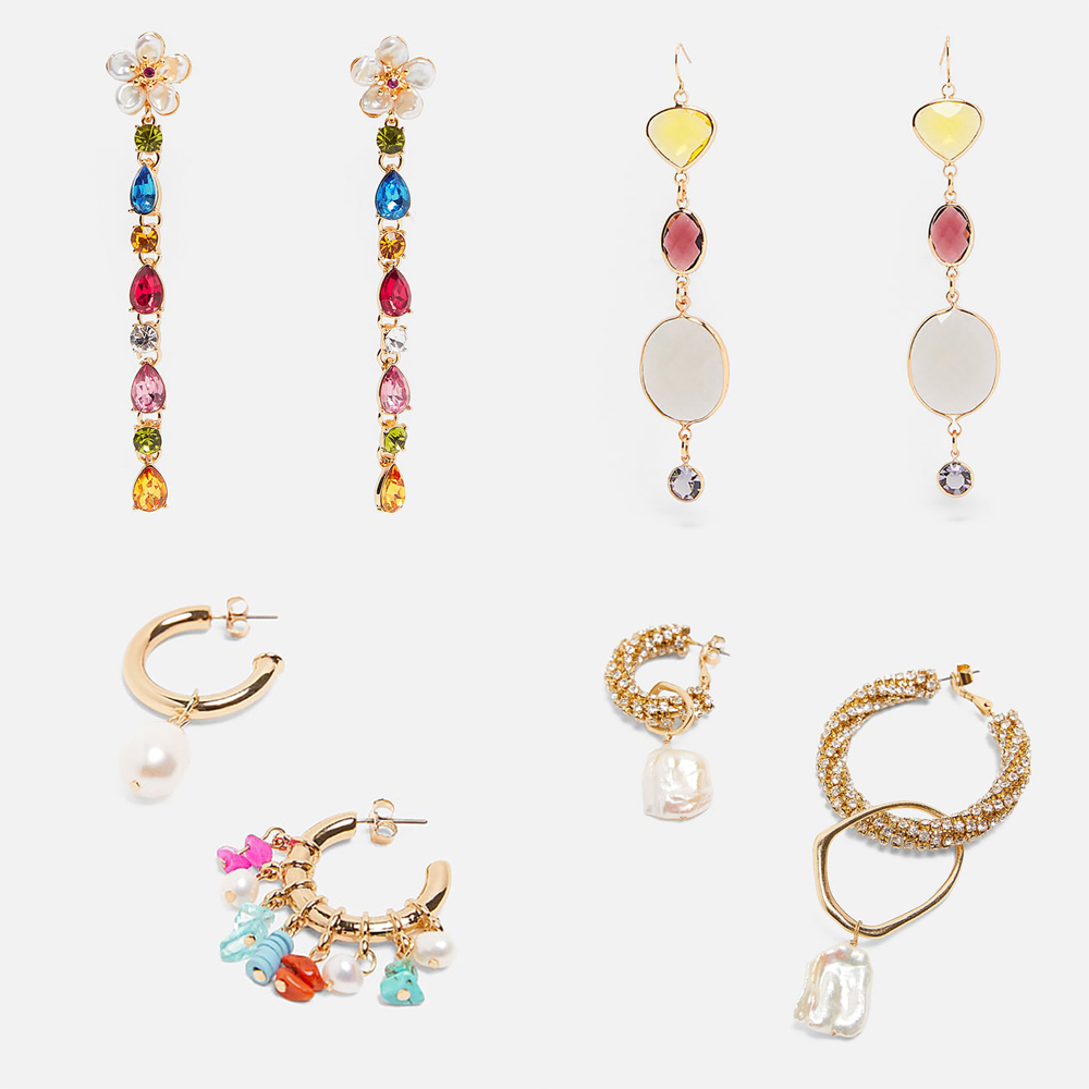 Best Lady 2019 Fashion Simulated Pearl ZA Drop Dangle Earrings For Women Brand Design Boho Wedding Statement Jewelry Party Gifts