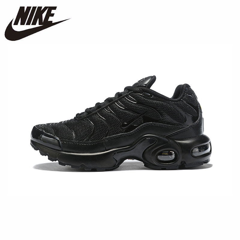 Nike Air Max TN Plus New Arrival Kids Shoes Mesh Sports Children Running Shoes Lightweight Outdoor Original Children Sneakers