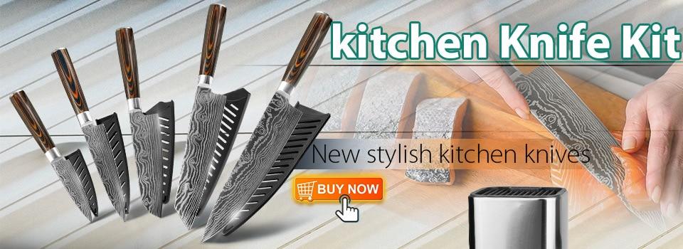 kitchen knife  5 piece
