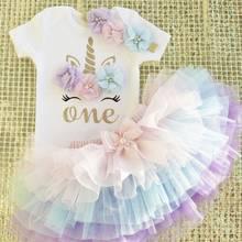 Vestido para meninas, vestido de verão para meninas de 1 ano; vestidos de noite para meninas; roupas para bebês; roupas para o primeiro aniversário; vestido infantil