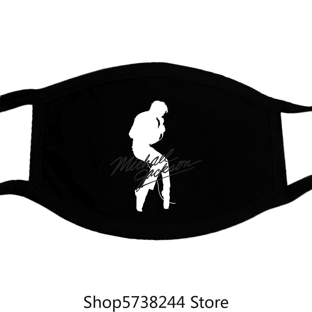 Michael Jackson Silhouette Charcoal Grey Mask New Washable Reusable Mask