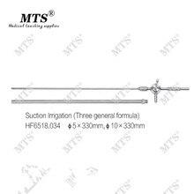 Mts Medische Endoscoop Chirurgie Instrumenten Laparoscopische Chirurgische Zuig Irrigatie Buis (Drie Algemene Formule)