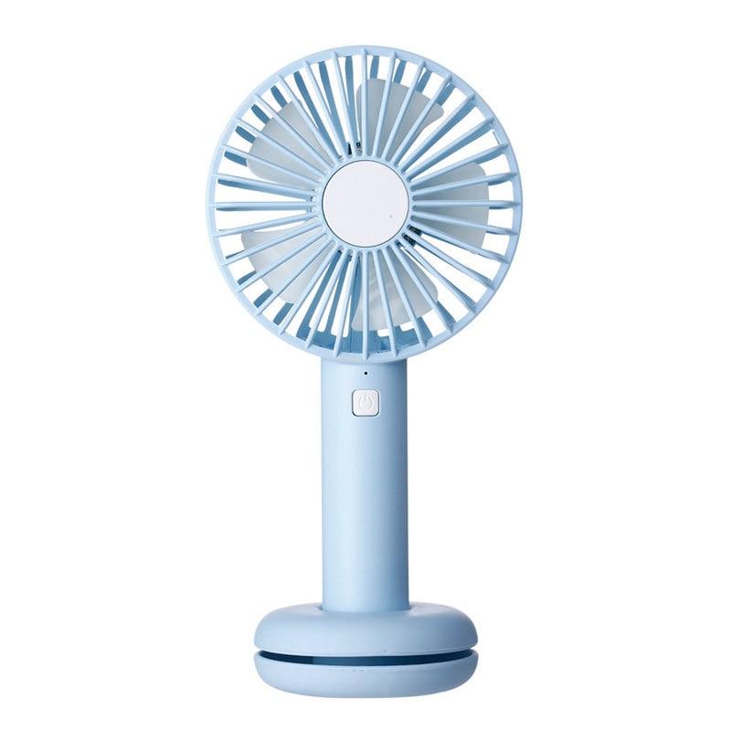 Ev Aletleri'ten Fanlar'de Mini USB gece lambası şarj edilebilir hava soğutma fanı klip masa fanı çift kullanımlı ev öğrenci yurdu başucu taşınabilir masaüstü ofis title=