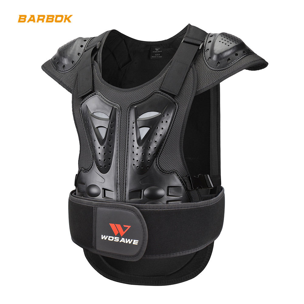 Body Protective Gear Motocross Armor Shockproof Snowboard Motorcycle Moto Riding Jacket Protector Top Protection Windbreaker