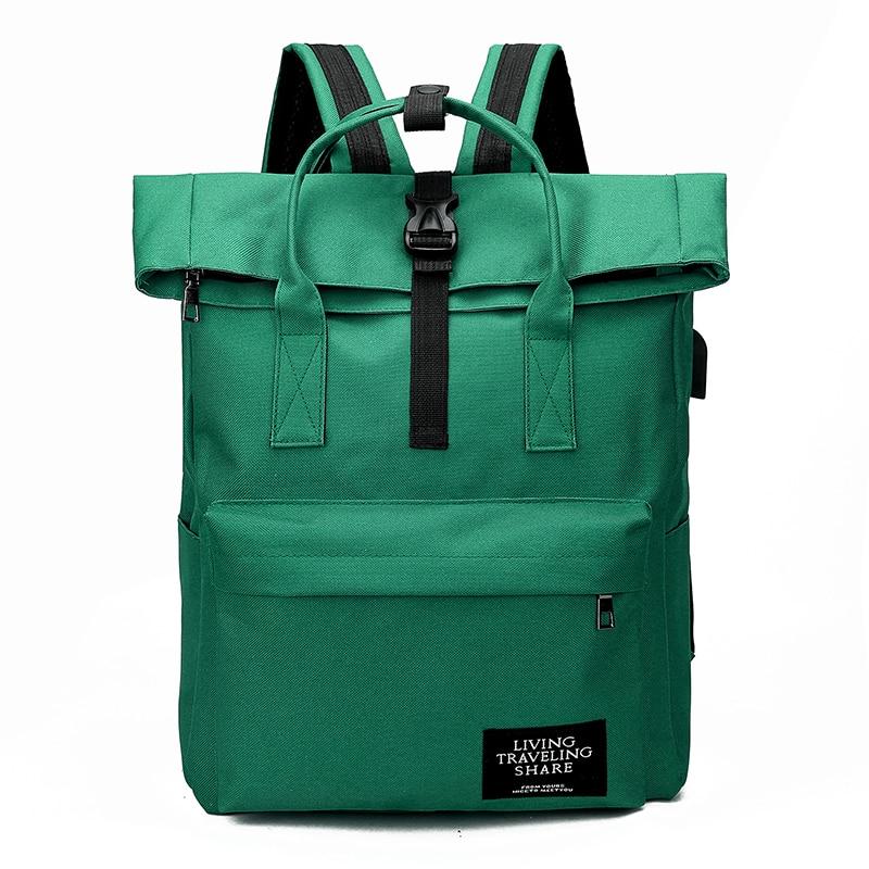 Hb6478a799f644b4cb961ba871cb0bf9ej Women External USB Charge Backpack Canvas Rucksack Male Mochila Escolar Girls Laptop Shoulder School Bags Backpack for teens