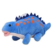 Динозавр школьный пенал ручка сумка Плюшевые игрушки Дети творческие игрушки сумка для хранения кукла подарок мультфильм милый мешок ручки