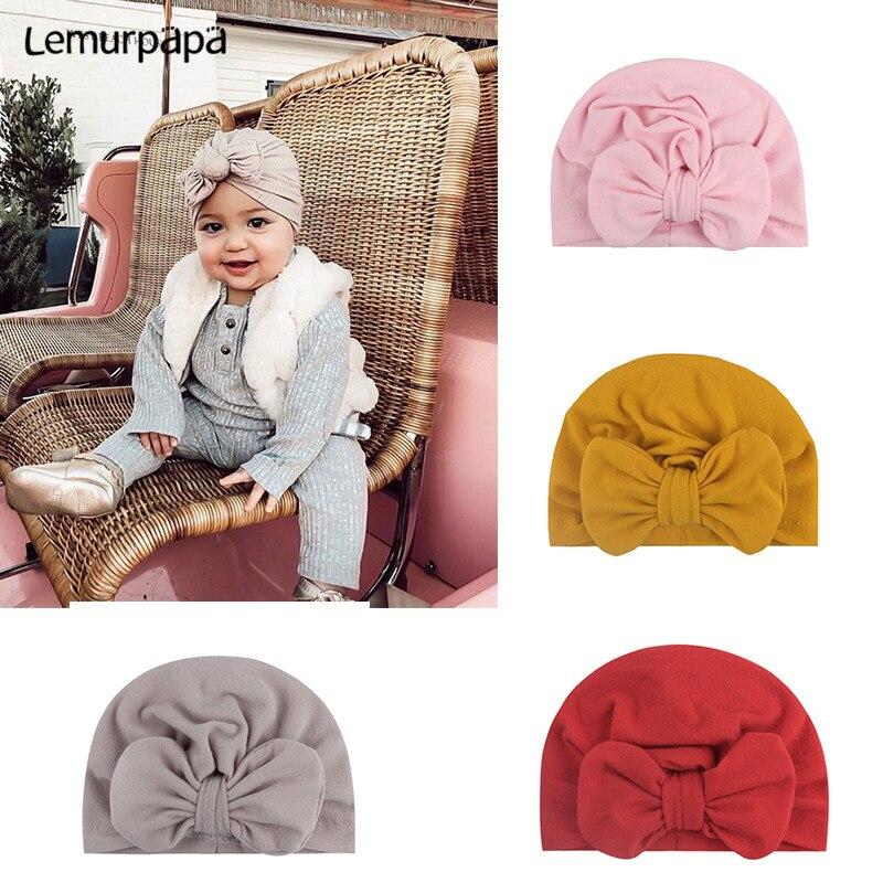 Baby Girl Headband Hair Accessories Bowknot Cute Newborn Headbands Turban Knotted Baby Headwrap Bandage Baby Bows