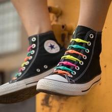 Lacets de chaussures en Silicone pour hommes, femmes et enfants, ronds et élastiques, spécial sans cravate, pour toutes les baskets, sangle adaptée, 16 pièces