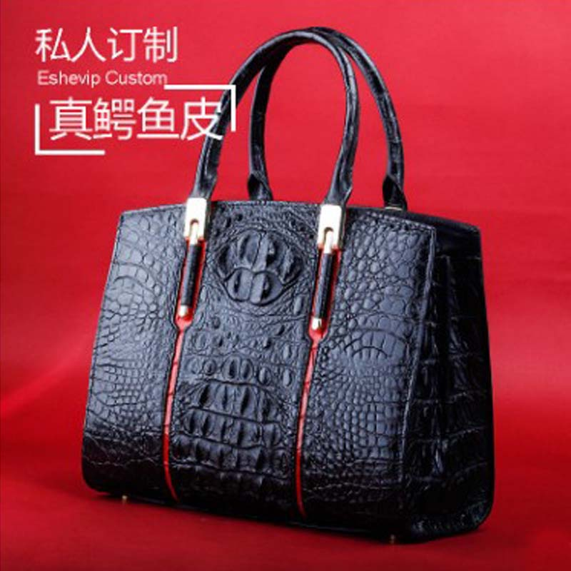 Ourui New New  Hot Style  True  The Crocodile Package  True  The Crocodile  Female  Handbag Women Bag