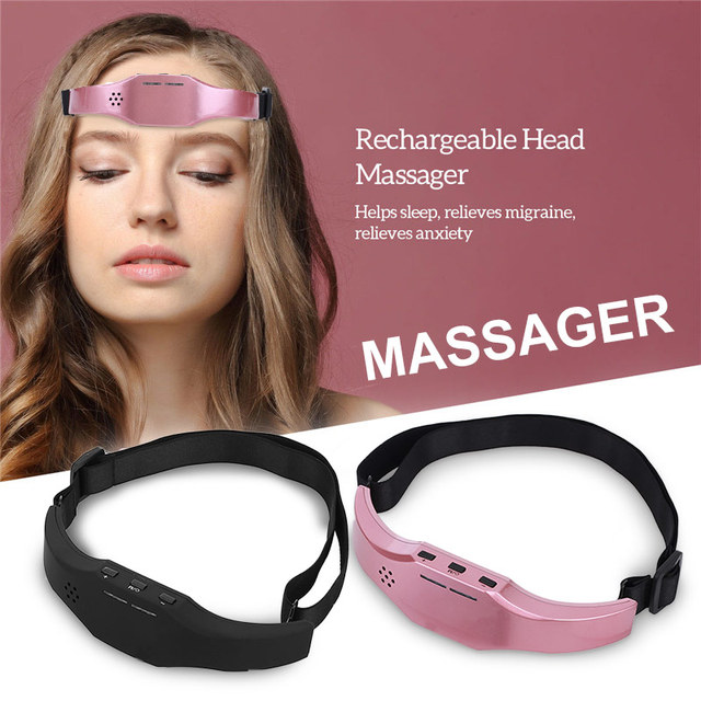 Electric Head Massager Sleep Monitor Migraine Relief Massager Insomnia Therapy Release Stress Sleep Therapy Device Sleeping Di 3
