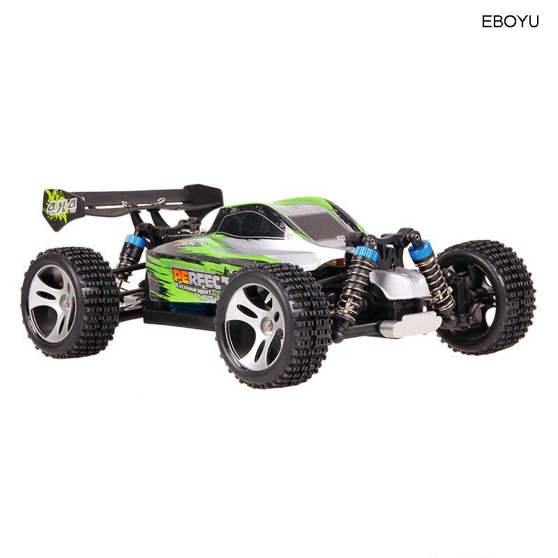 WLtoys A959A A959 A RC автомобиль 2,4 ГГц 1:18 Масштаб 4WD 35 км/ч высокий гоночный скоростной автомобиль дистанционное управление внедорожный автомобиль ... - 2